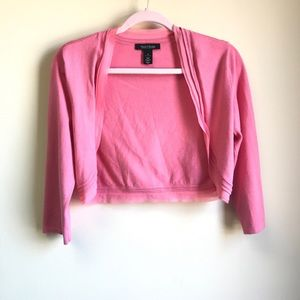White House | Black Market - Pink Crop Sweater